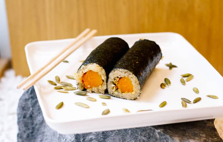 How To Make Pumpkin-Spiced Sushi (Yes, Really)
