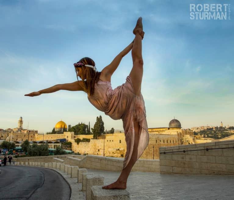Yoga In Jerusalem Through The Lens Of Photographer Robert Sturman