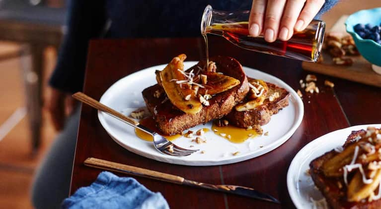 A Decadent Vegan & Gluten-Free French Toast