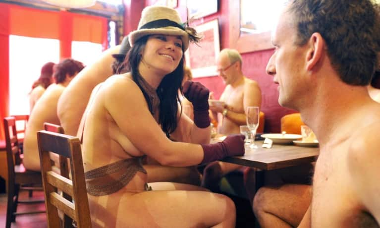 A Naked Restaurant Is Opening In London & There's A 45,000-Person Wait List