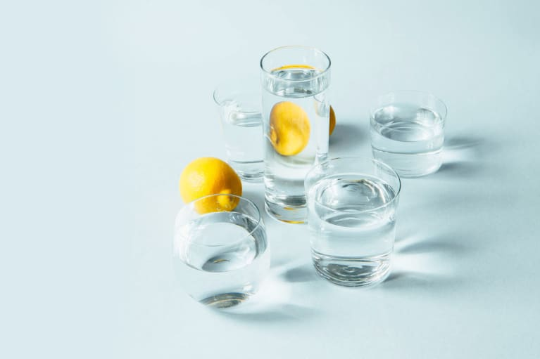 Intermittent Fasting with Water and Lemon