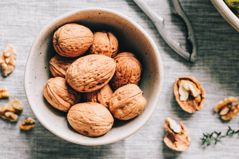 Walnuts help maintain blood pressure for those at risk of heart disease