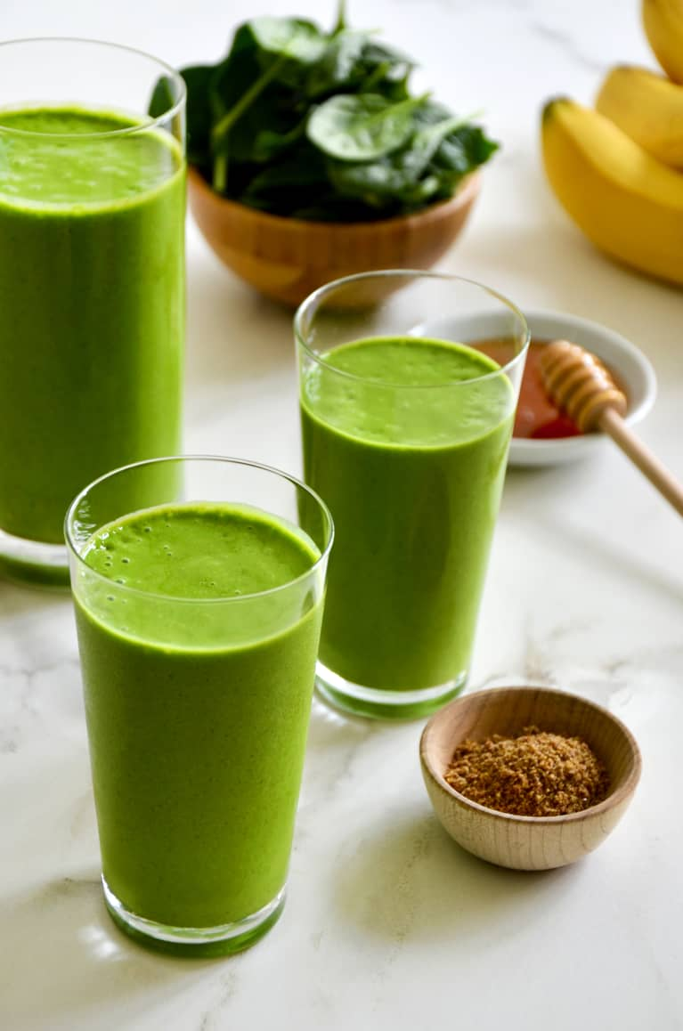 This Green Smoothie Has A Protein Powerhouse Ingredient You'll Never See Coming