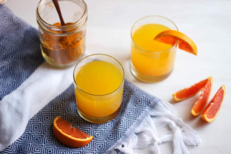 A Turmeric Hot Toddy To Shrug Off The Winter Chill