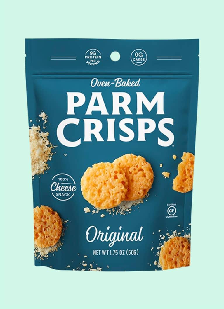 Oven-Baked Parm Crisps