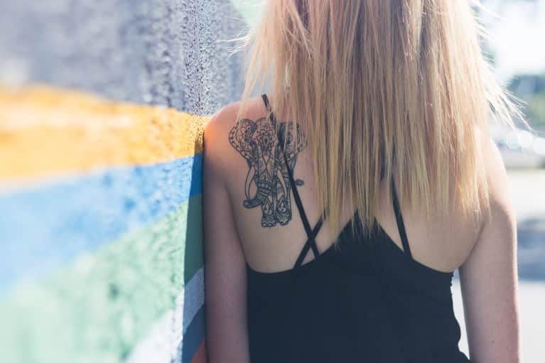What My Yoga Tattoo Fail Taught Me About Letting Go Of Perfection
