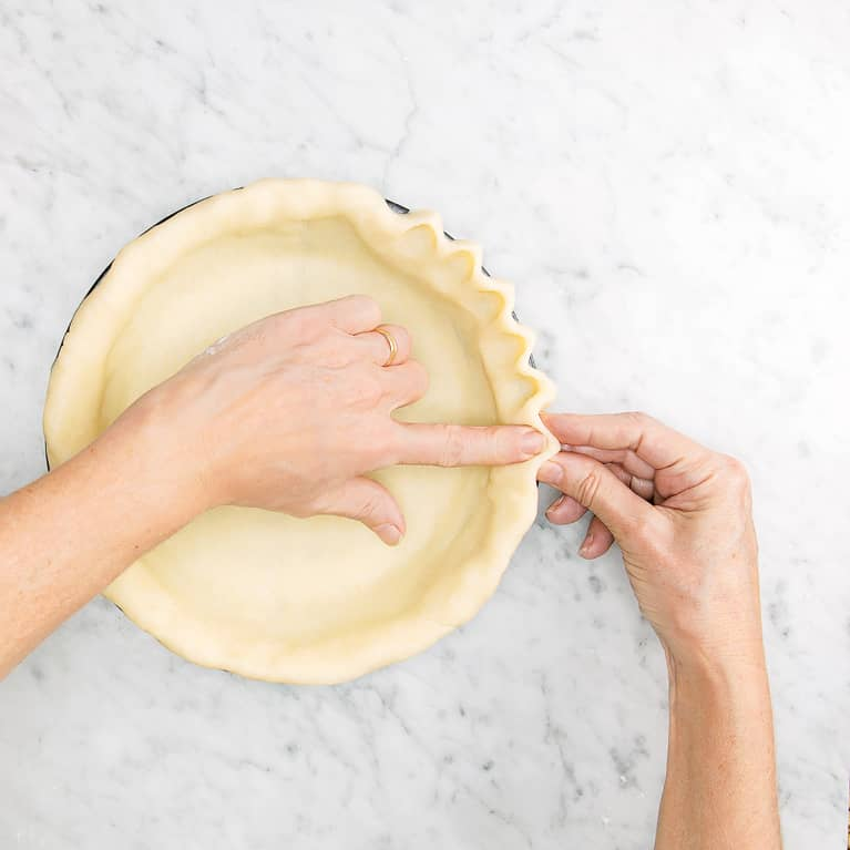Jazzing up your pie crust primping