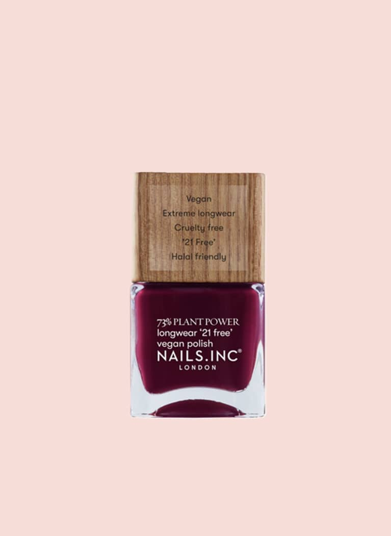nails inc plant powered nail polish