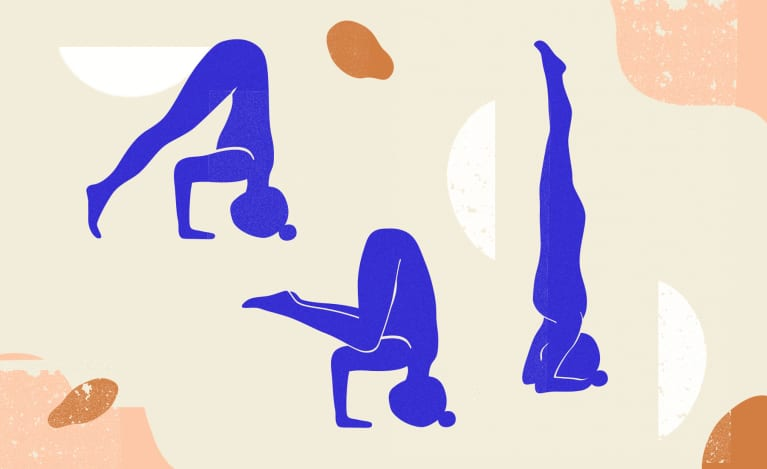 Want To Master A Headstand? Here's Exactly How To Do This Yoga Pose Safely