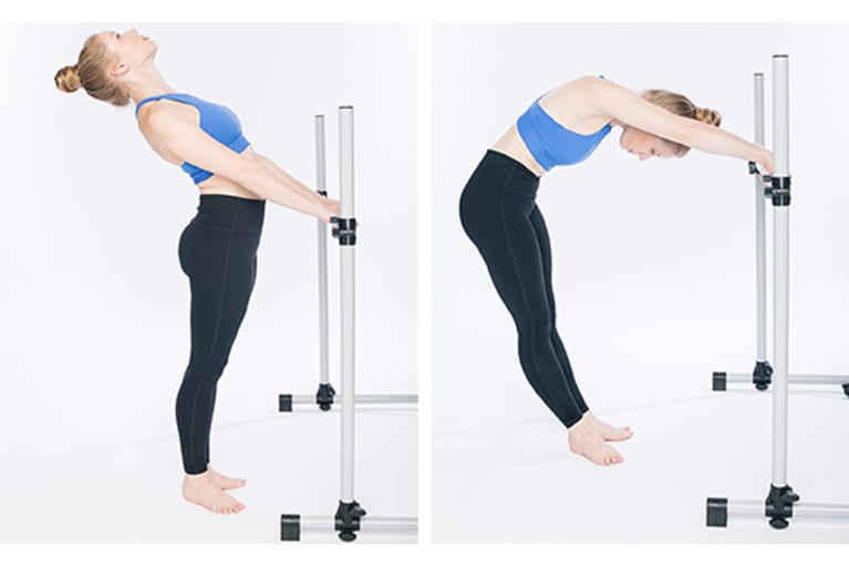 Flexion and Extension at the Barre