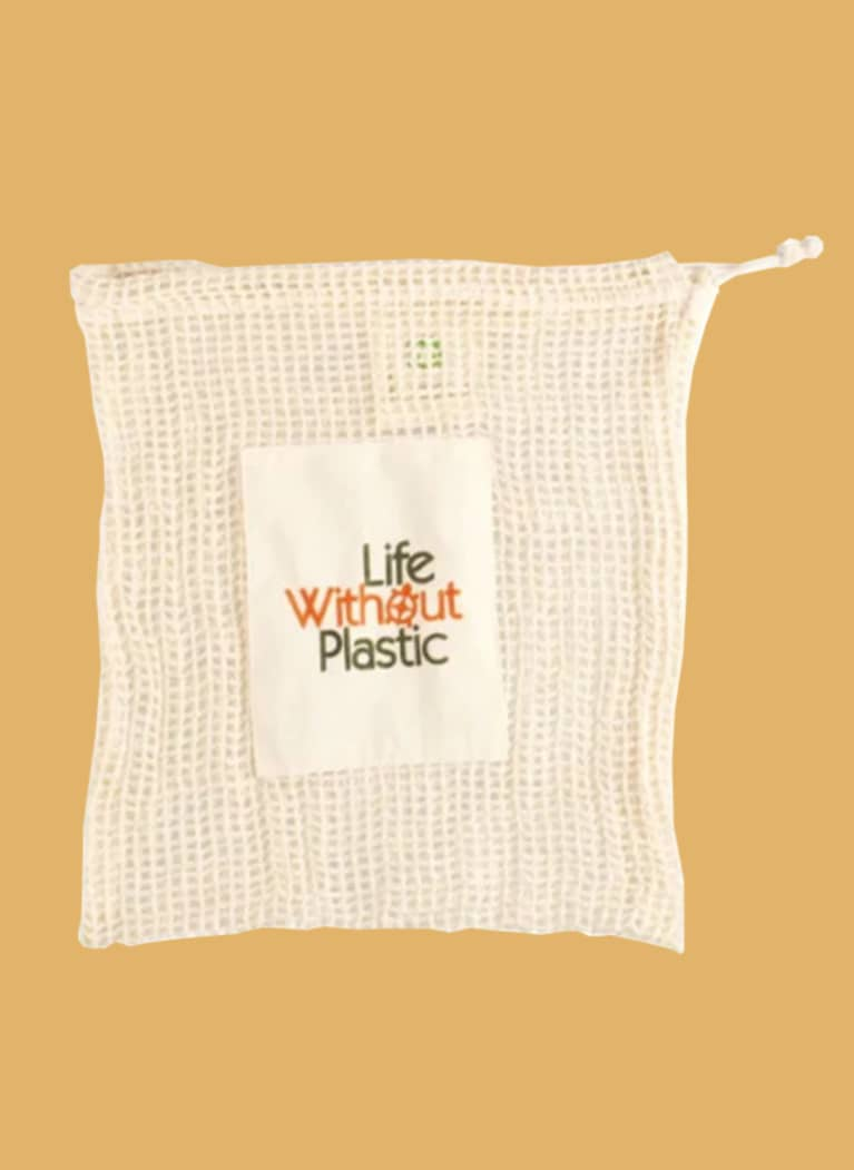 Life Without Plastic tight cotton mesh bag