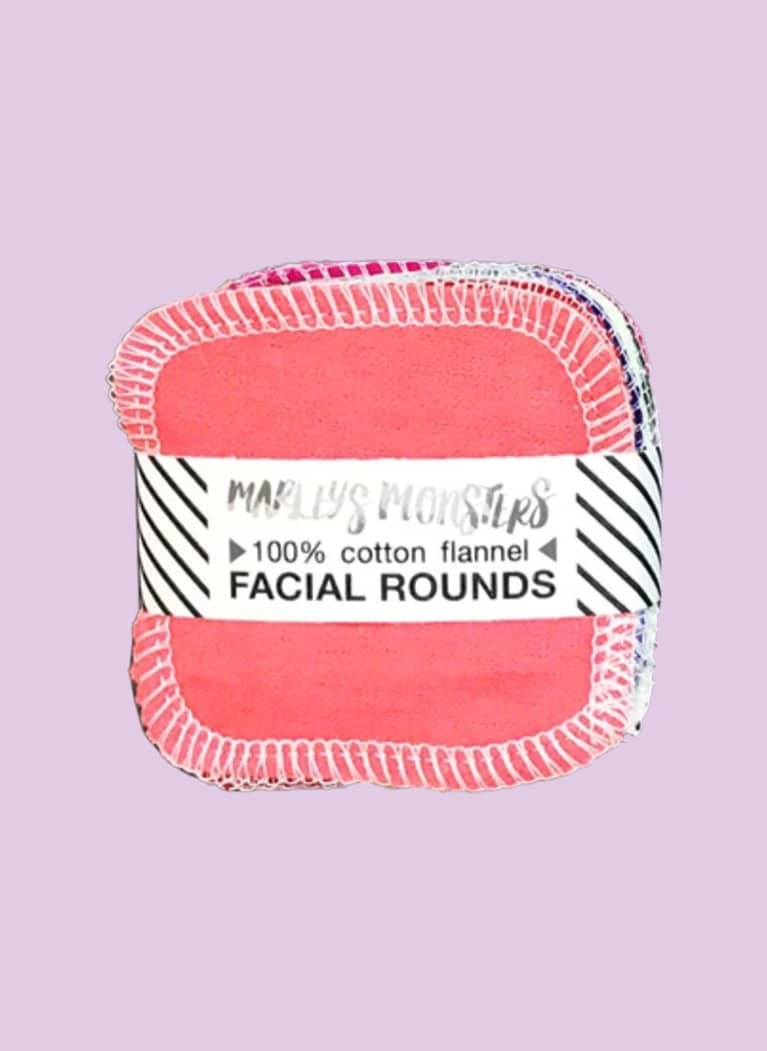 Marley's Monsters Facial Rounds: Rainbow Solids