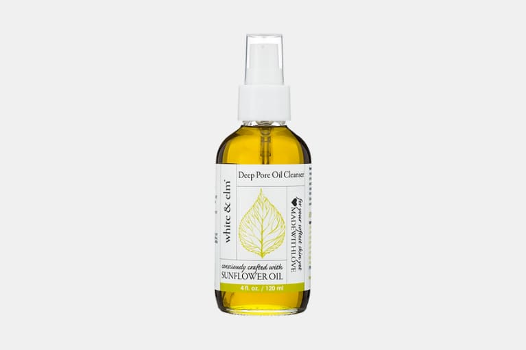 white and elm deep pore cleanser