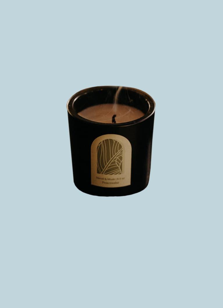peacesake candle co neroli