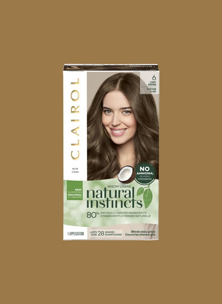 clairol natural hair color