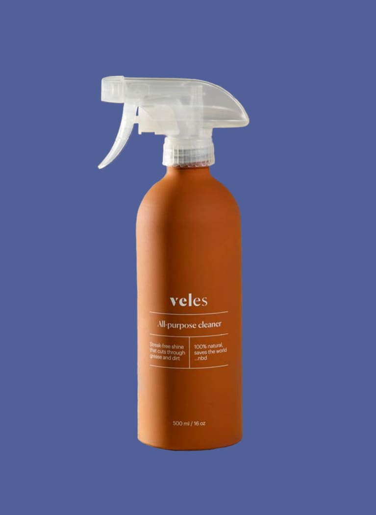 veles cleaning product spray bottle