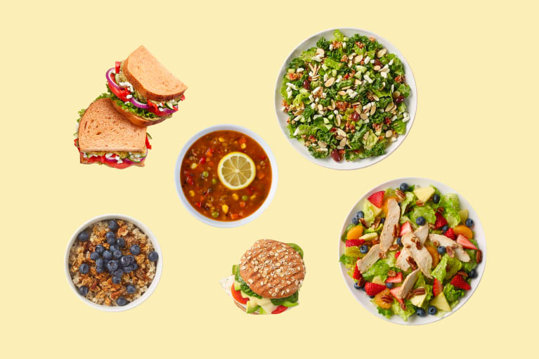 Healthy options a nutritionist chooses at Panera
