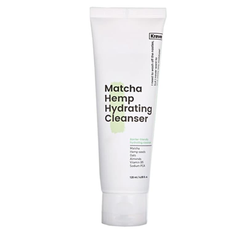 KraveBeauty Matcha Hemp Hydrating Cleanser