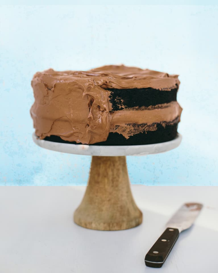 The Vegan Chocolate Cake Of Our Dreams