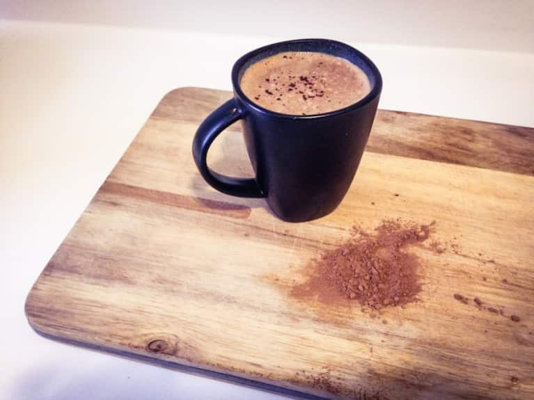 Creamy Vegan Hot Cacao