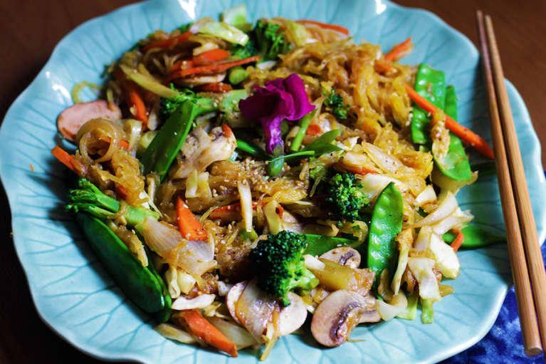 Gluten-Free Vegan Lo Mein