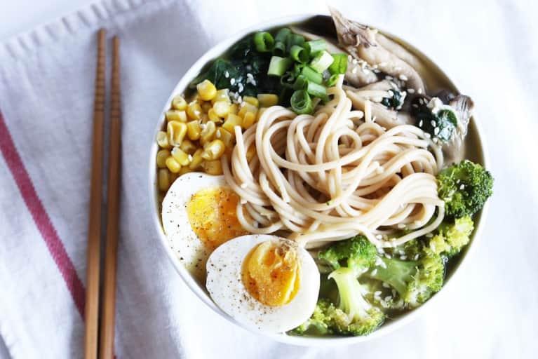Super Easy Gluten-Free Ramen (It's Vegetarian, Too)