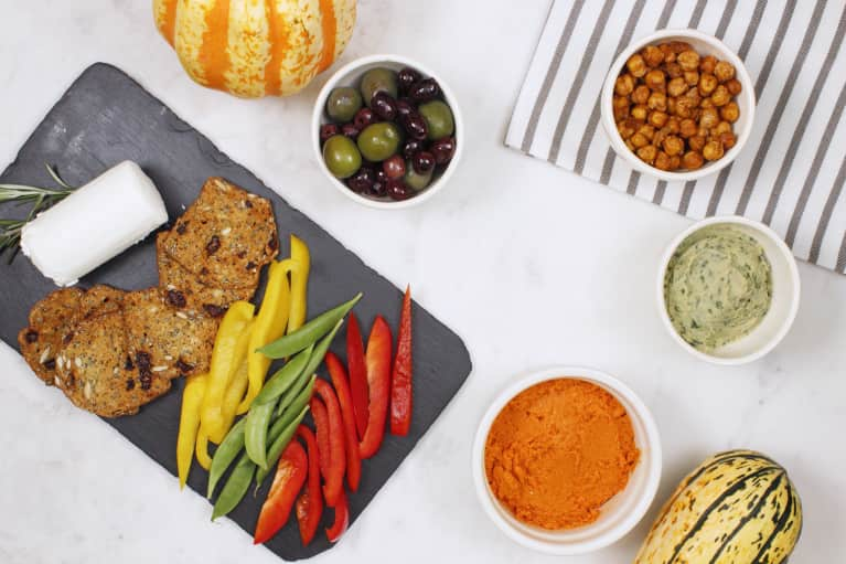 All About The Appetizers: A Plant-Centric Snack Plate For Thanksgiving