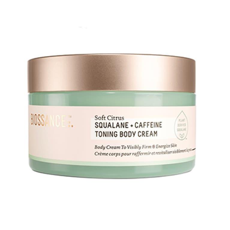 Biossance Squalane + Caffeine Toning Body Cream