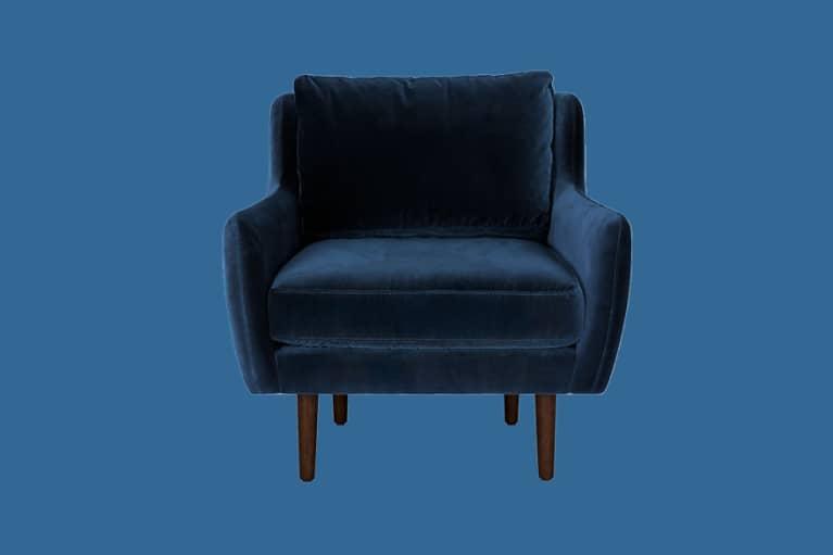 <p>Matrix Cascadia Blue Chair</p>