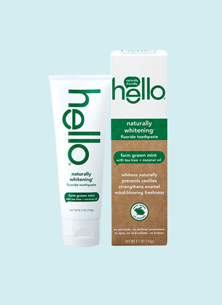 Hello Natural whitening toothpaste