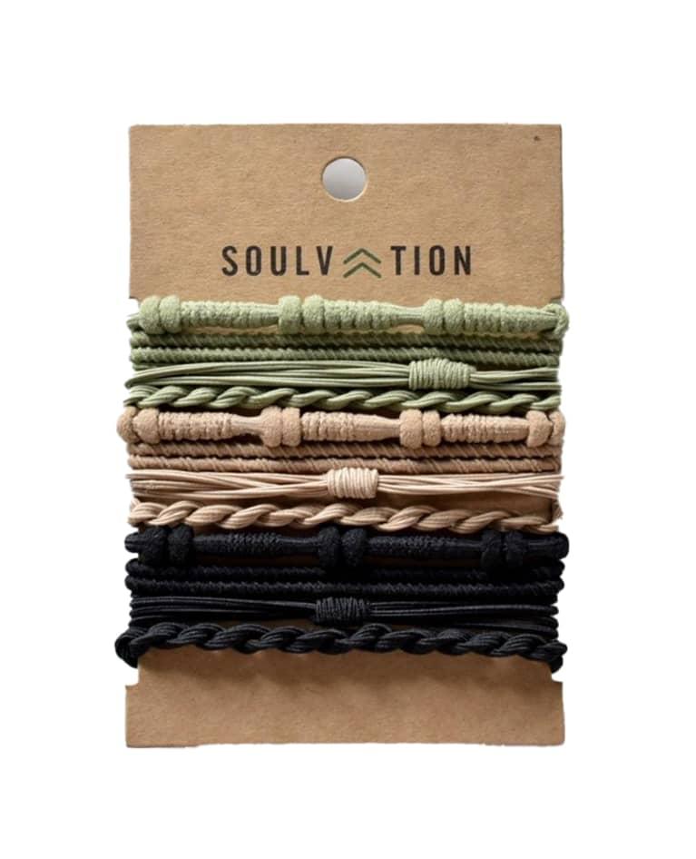 Soulvation Hair Tie Bracelets