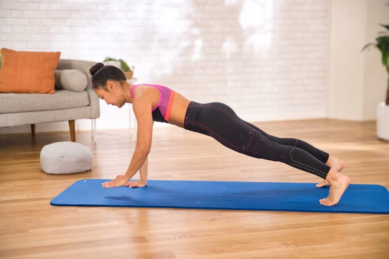 Fire Up Your Arms & Abs With This Fresh Take On A Simple Plank