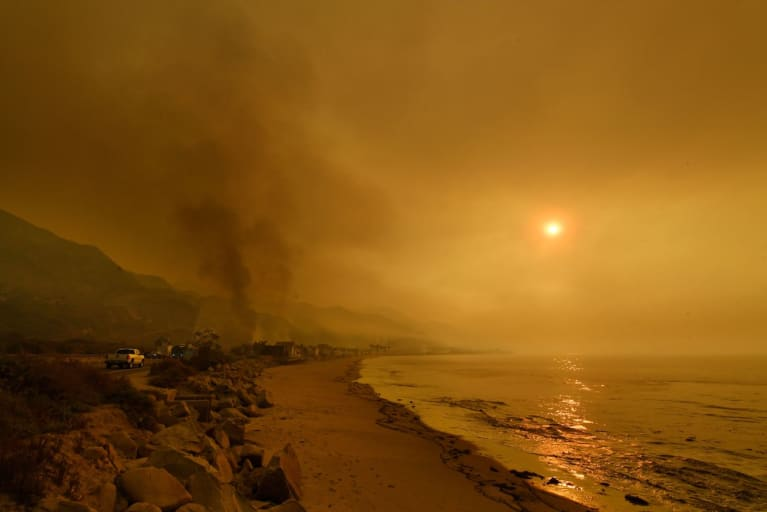 Yet Another Wildfire Hits California
