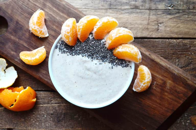 Raw Buckwheat + Clementine Winter Breakfast Bowl