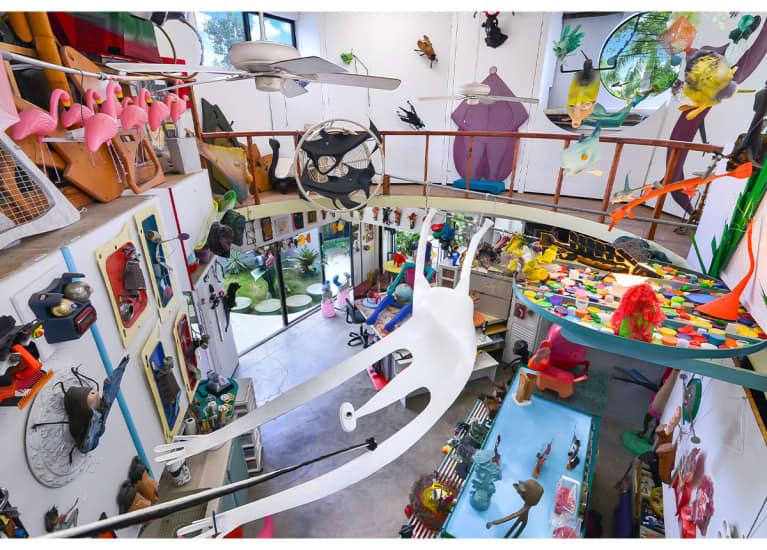 This Home Is Basically A Whimsy Art Museum & We Couldn't Love It Any More