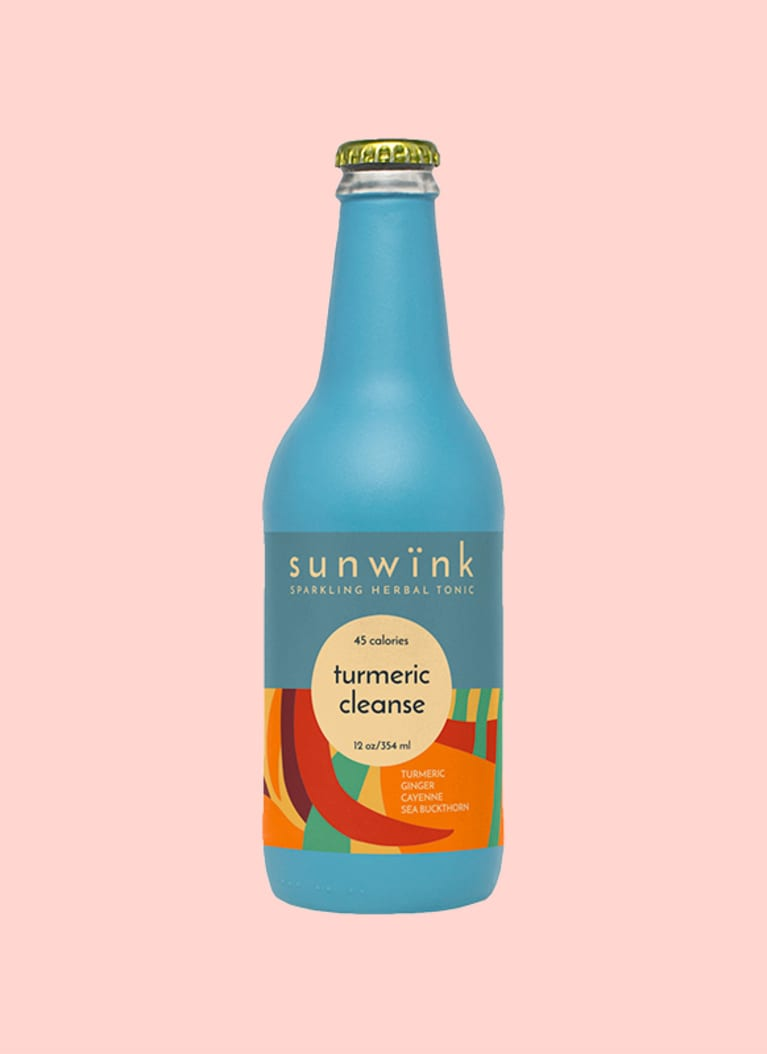 Sunwink Turmeric Cleanse Sparkling Herbal Tonic