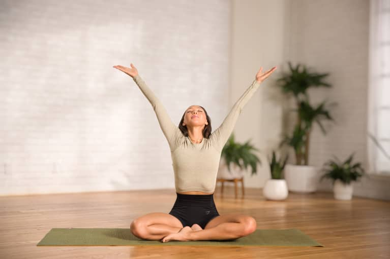 Feeling Burnt Out? Try This Yoga Flow To Relieve Stress & Restore Ease