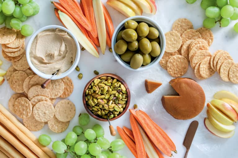 Celebrate An At Home Happy Hour This Weekend With This Vegan Grazing Board Guide