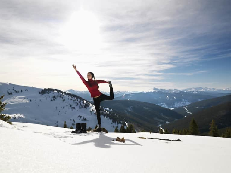 5 Essential Yoga Poses To Help Winter Athletes Recover