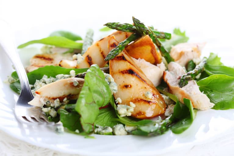 Milk The Autumnal Days Before Winter With This Simple Grilled Pear Salad