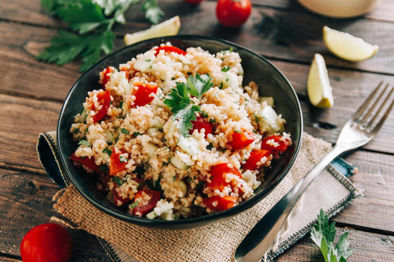 This Tabbouleh-Inspired Salad Has An Ingredient That May Alleviate Allergies