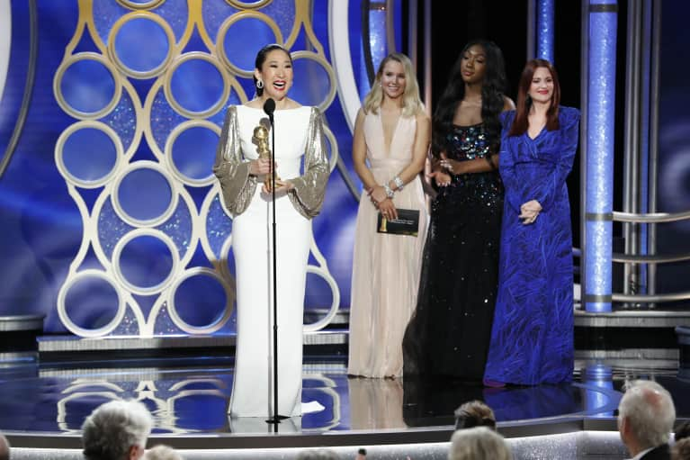 This Year's Golden Globes Was All About Empowerment & We Were So Here For It