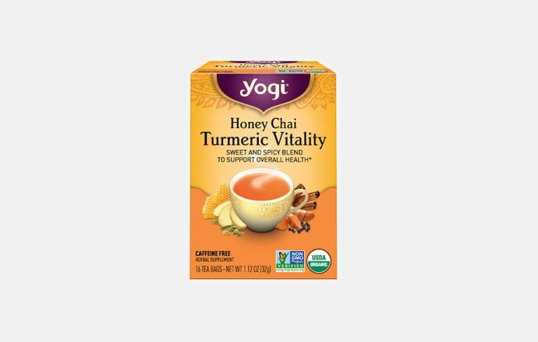 <p>Honey Chai Turmeric Vitality Tea</p>