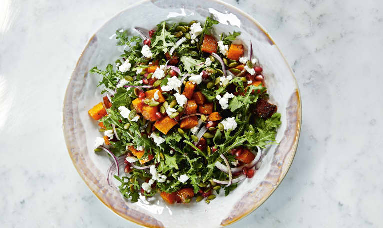 Chrissy Teigen Created The Fall Salad Of Our Dreams, And We Snagged The Recipe