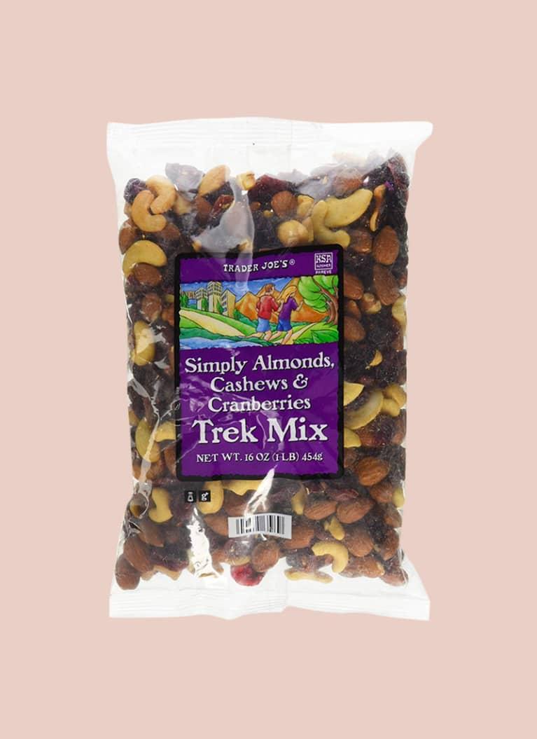 2. Simply Almonds, Cashews & Cranberries Trek Mix