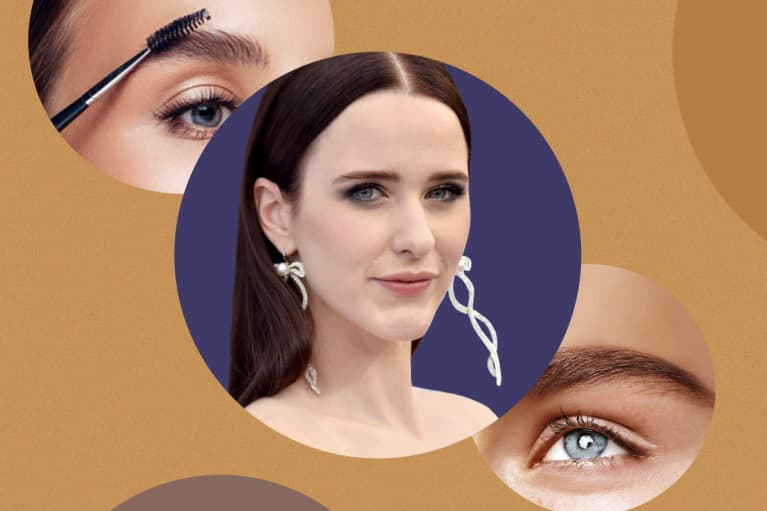 Rachel Brosnahan Has A Genius Trick For Perfectly Undone Brows (Not Brow Gel)