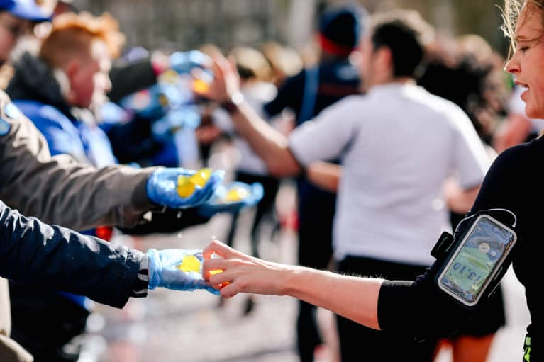 How The London Marathon Swapped Single-Use Plastic For ... Seaweed?