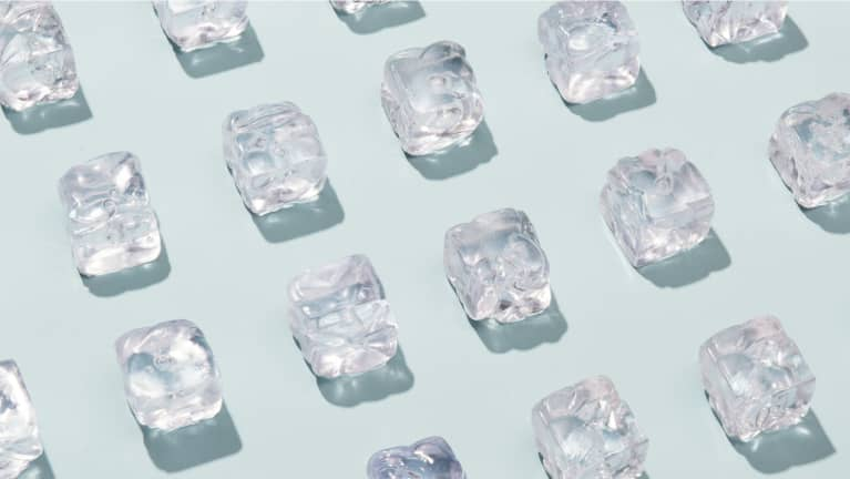 The Ice Cube Hack That Calms You Down, From A Nutritional Psychiatrist