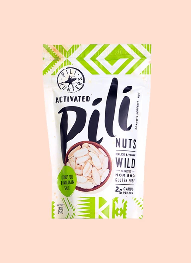 Pili nuts: 24 g fat, 1g net carb