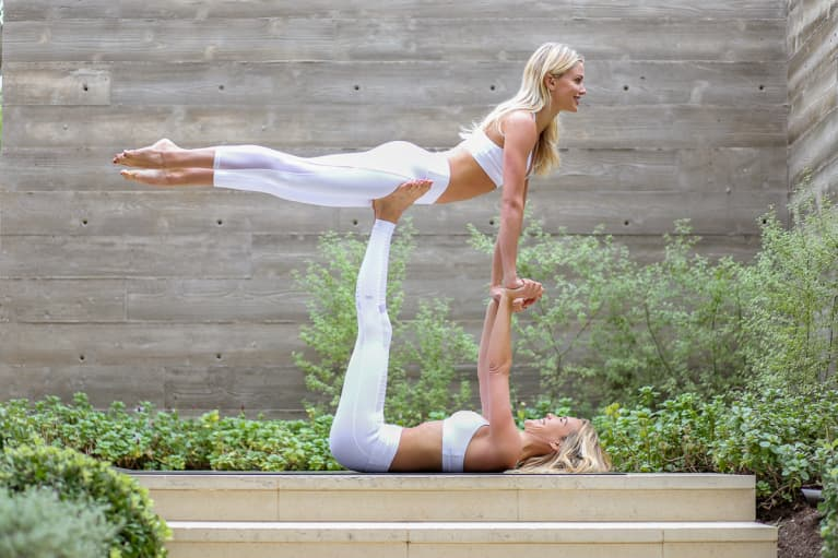 Partner Yoga Is The Quarantine Activity You Should 100% Try Next
